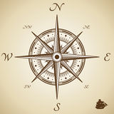Vector compass Royalty Free Stock Photo