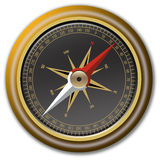 Vector compass. Illustrated vector compass with all eight directios royalty free illustration