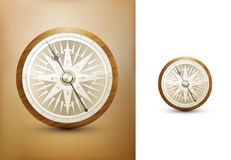 Vector compass illustration Royalty Free Stock Photo
