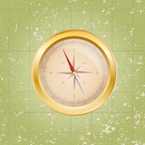 Vector compass illustration Royalty Free Stock Photography