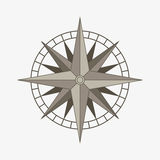 Vector compass rose Royalty Free Stock Image