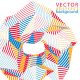 Vector complicated 3d backdrop, modern digital technology style Stock Photo