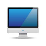 Vector Computer Monitor Stock Images