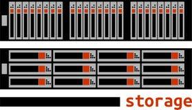 Vector - computeropslag Royalty-vrije Stock Afbeelding