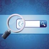 Vector search concept Stock Photography