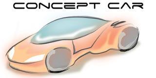 Vector concept car Royalty Free Stock Photos