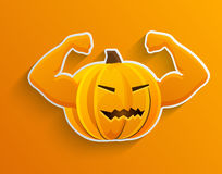Vector concept halloween background. Eps10 Royalty Free Stock Image