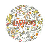 Vector Concept Of Las Vegas Royalty Free Stock Images