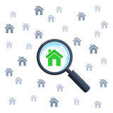 Vector concept real estate Stock Photo