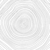 Vector Conceptual Background With Tree-rings. Tree Royalty Free Stock Image