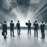 Conceptual Business Background new 12 Stock Photography