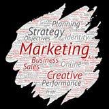 Vector development business marketing target Royalty Free Stock Photos