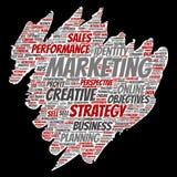Vector conceptual development business marketing Royalty Free Stock Photos