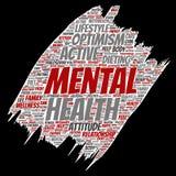 Vector conceptual mental health Stock Photo