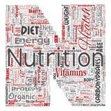 Vector nutrition health diet letter font N royalty free illustration