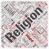 Vector religion, spirituality word cloud vector illustration