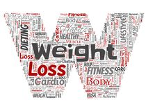 Vector weight loss diet transformation letter font W. Vector conceptual weight loss healthy diet transformation letter font W word cloud isolated background Royalty Free Stock Photo