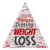 Vector weight loss healthy diet transformation Royalty Free Stock Photo