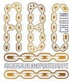 Vector condensado, fuente alta El mecanografiado de moda se puede utilizar en AR libre illustration