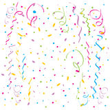 Vector Confetti Stock Images