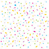 Vector confetti Royalty Free Stock Photo