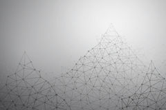 Vector Connection Structure Background Royalty Free Stock Photos