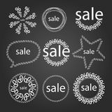 Vector sign off. Vector consisting of the percent sign signifying discounts Royalty Free Stock Photos