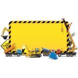 Vector Construction Board Stock Photo