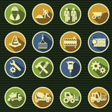 Vector construction icon set Stock Photos