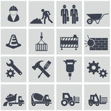 Vector construction icon set Royalty Free Stock Photography