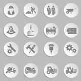 Vector construction icon set Stock Photography