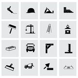 Vector construction icon set Royalty Free Stock Image
