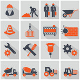Vector construction icon set Stock Image