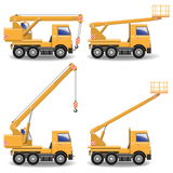 Vector Construction Machines Set 1 Stock Photos