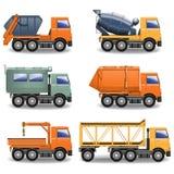 Vector Construction Machines Set royalty free illustration