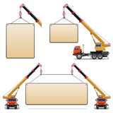 Vector Construction Machines Set 6 Stock Photos