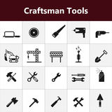 Vector Construction tools icons,illustration Royalty Free Stock Photo