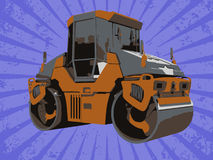 Vector construction truck Stock Photos