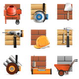 Vector Construction Work Icons Stock Images