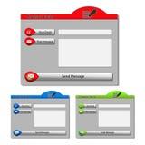 vector contact forms Stock Photos
