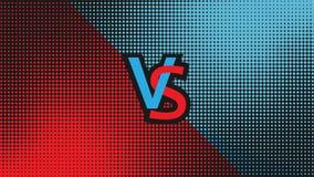 Vector contra el ejemplo Imagen de archivo