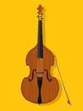 Vector contrabass Stock Images