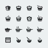Vector cooking icons set Stock Photo