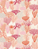 Vector Coral Texture illustration Royalty Free Stock Image