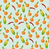 Vector corn cob Royalty Free Stock Photos