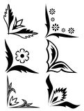 Vector corner ornament. This is a vector image - you can simply edit colors and shapes vector illustration