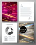 Vector corporate design template Stock Photography