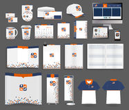 Vector corporate identity templates Stock Image