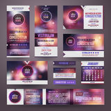 Vector Corporate identity templates Stock Photography