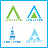 Vector corporate Logos Royalty Free Stock Image